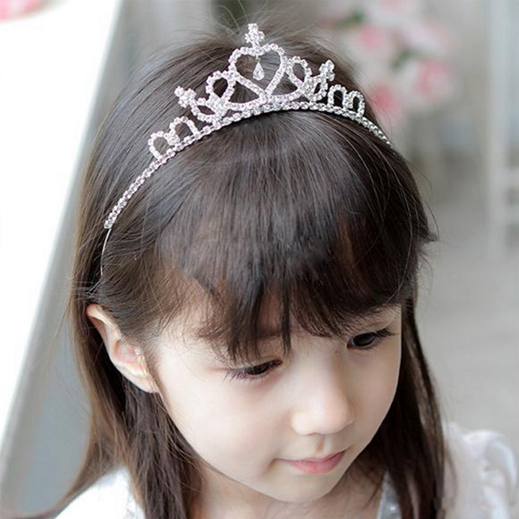 HTB1q2vAPXXXXXbCXpXXq6xXFXXX8 Charming Kid Size Flower Girl Baby Princess Crown Headband With Austrian Crystals