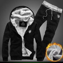 Neue Hoody Winter Herren Sportswear Beiläufige Klage Hoodies Männer Hip Hop Reißverschluss Streetwear Hosen Straße Sweatshirts Hoodie Trainingsanzug 2 p