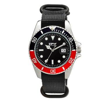 8827517b2528 TPW marca clásico para hombre analógica litros Relojes hombres reloj de  pulsera de lujo Casual reloj negro de alta calidad correa de nylon