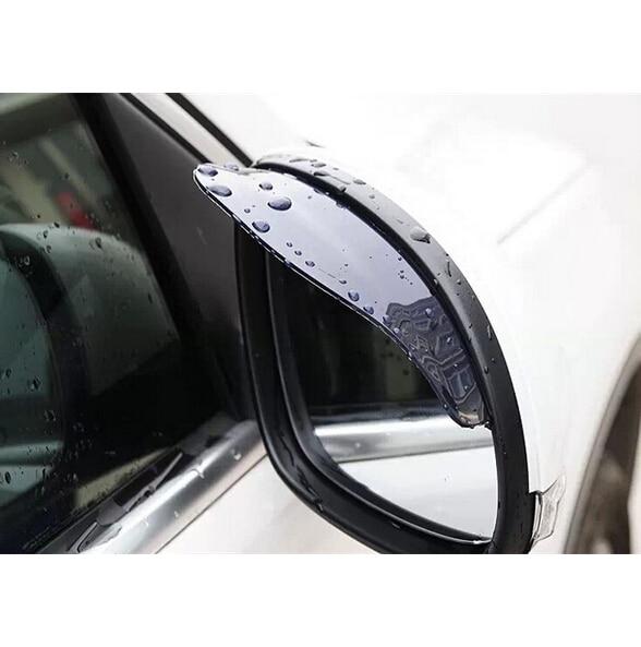 2PCS Waterproof Car PVC back anti Rain Eyebrow Rainproof for Nissan Maxima Micra Moco Murano Note rt Fairlady Z Figaro Fuga Leaf