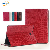 High Quality Luxury Crocodile Pattern Leather Case Cover For Samsung Galaxy Tab S2 8.0 T710 T715 Tablet + Stylus pen+screen Film