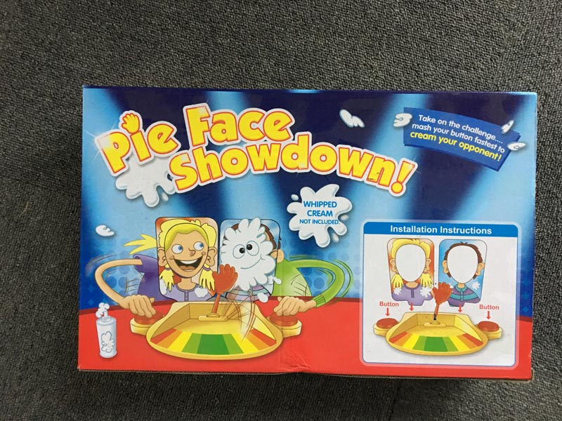 Elsadou Cream Pie Double Shoot Family Game Toys Face