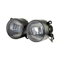 One Pair 30W Round 3 5in Universal Wrangler Off Road High Power Led Fog Light Replacement