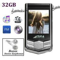 1pc 32GB 1 8 LCD Screen Digital MP3 MP4 Player 73 X 39 X 9mm Professional