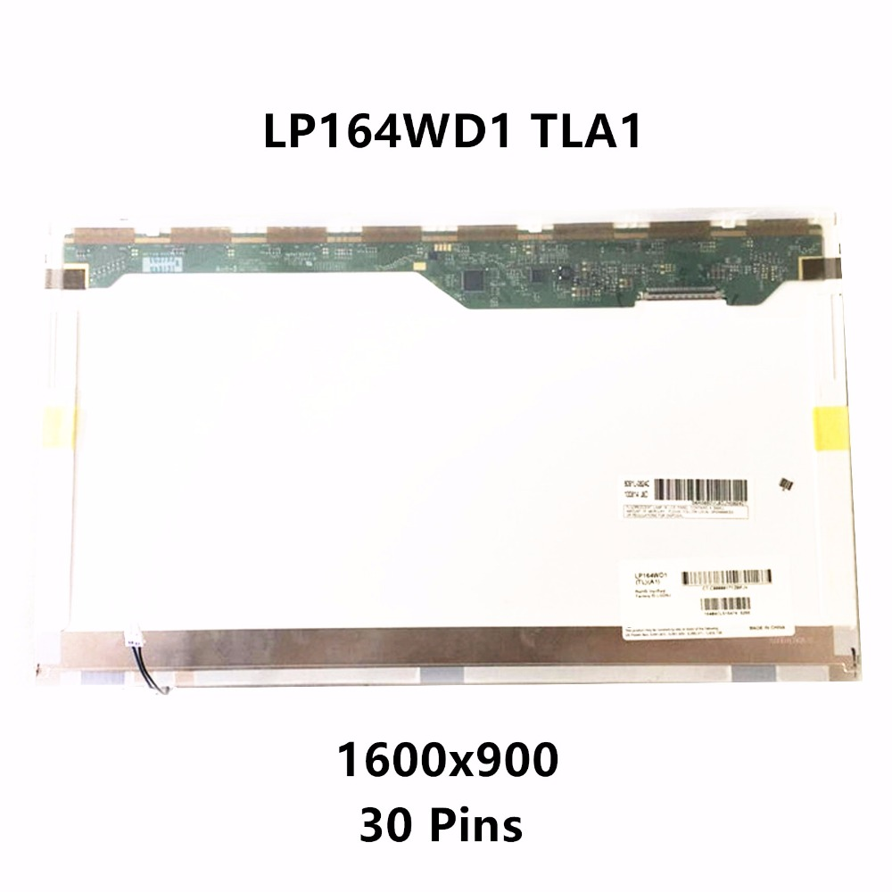 16.4'' Laptop LCD Screen Display Matrix Panel LP164WD1 TLA1 (TL)(A1) B164RW01 V.0 for Sony Vaio VGN-FW 1600x900 30 Pins Matte original genuine new 17 inch laptop lcd screen hinges for sony vaio vgn vgn ar ar68 ar32 965 ar ar320e series left right