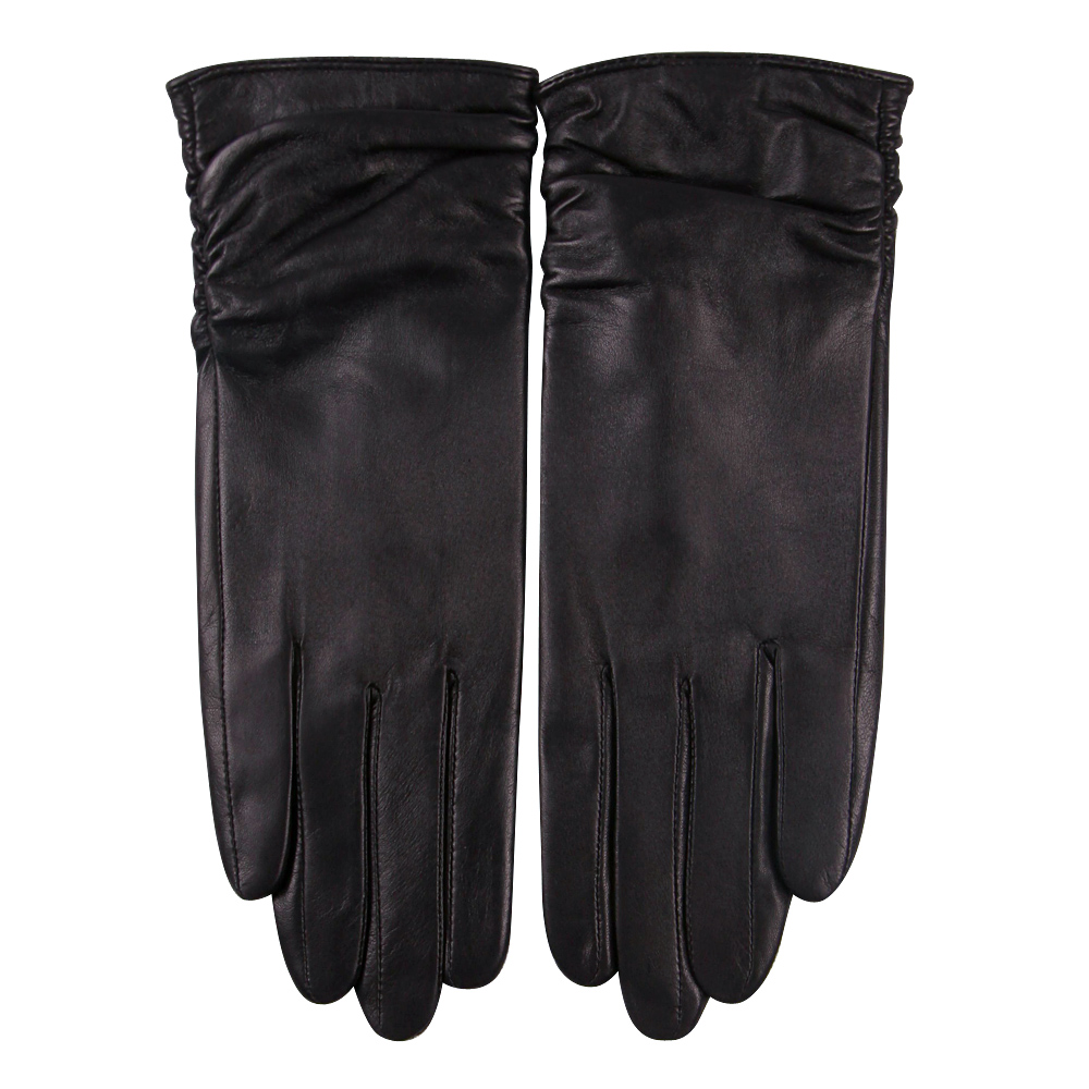 Genuine Leather Gloves Female Thicken Plush Lined Keep Warm Winter Touchscreen Driving Fashion Sheepskin Woman Gloves L17011C in Women 39 s Gloves from Apparel Accessories