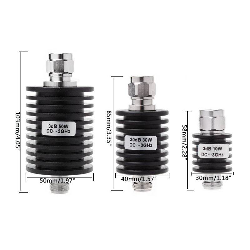 50W N Type DC-13GHz Coaxial Fixed Attenuator Frequency 3GHz N Fixed Connectors чехол для samsung galaxy tab s 8 4 samsung ef bt700blegru