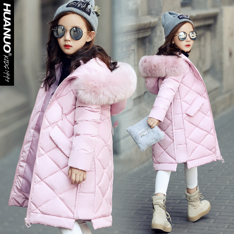 The big boy winter fur collar cotton padded jacket thick season product release in the winter 2016 the original design printing 100% cotton linen loose big yards women cotton padded clothes