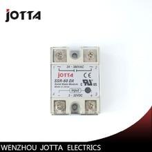 SSR -60DA  DC control AC SSR white shell Single phase Solid state relay недорго, оригинальная цена