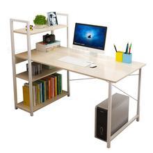 Компьютеризированный Настольный простой современный односпальный простой офисный стол книжная полка комбинация