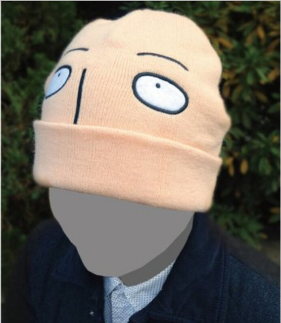 51ae36ffcaf Funny Cosplay Hat Japanese Anima Animation ONE PUNCH MAN Cosplay Wool cap  Saitama Yellow Costume Accessory Unisex AN493