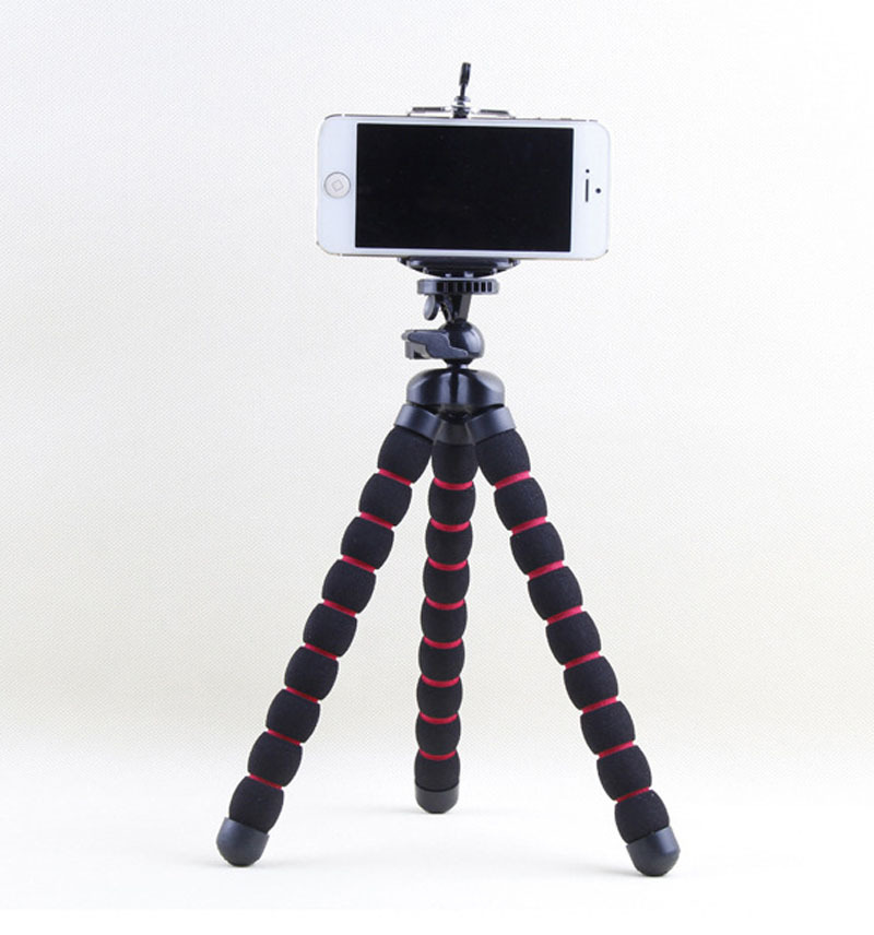 Image 4 - Kaliou Large Size Table Desk Flexible Sponge Octopus Tripod for Gopro 6 5 4 3 2 1 Canon Nikon Sony Camera DSLR-in Live Tripods from Consumer Electronics