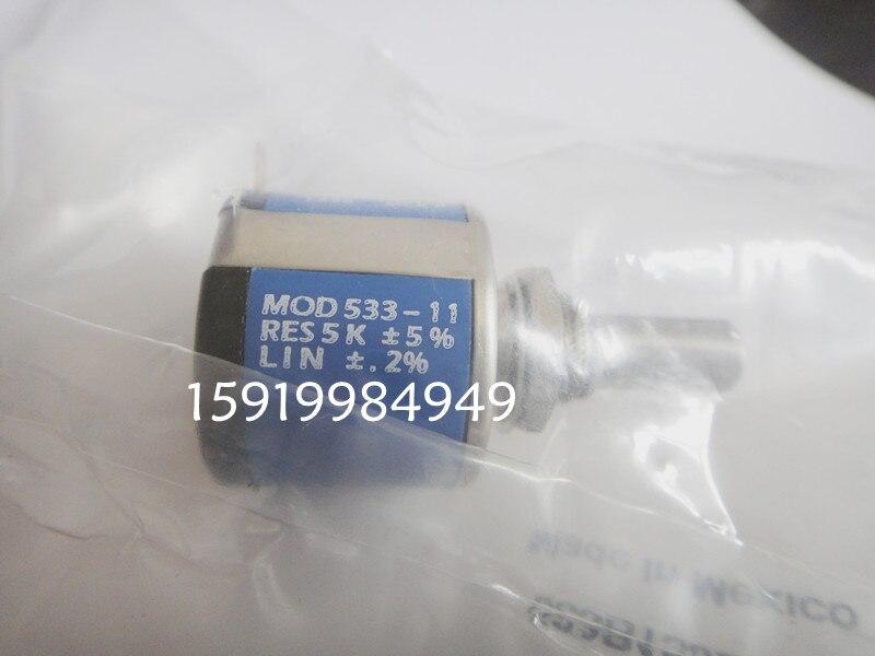 [VK]   533-1-1 1K multi-turn potentiometer 3 turn potentiometer 533-11102 precision potentiometer switch