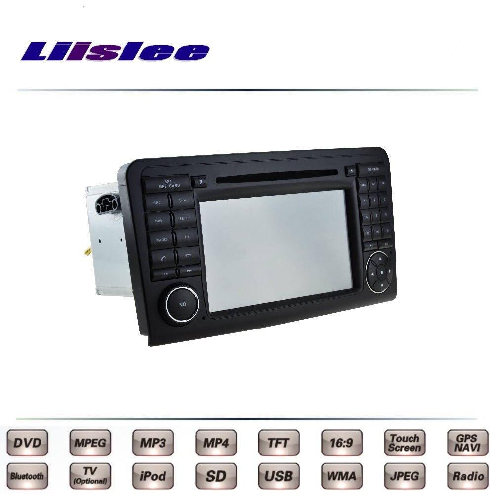 For mercedes benz ml350 mb w164 2005 2011 car multimedia for Mercedes benz navigation dvd