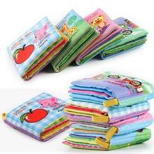 Brinquedo bebê móveis 8/10 páginas, chocalhos, brinquedo, livro de pano macio, carrinho recém nascido, pendurado, aprendizagem precoce brinquedos do bebê