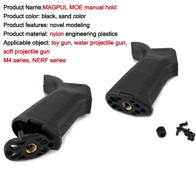 MOE grip NERFly/m4a1 doux projectile accessoires D'eau Élastique tactique triangle avant grip En Plein Air jeu de tir