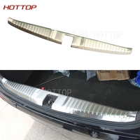 car auto cover styling For Honda Odyssey 2015 2016 stainless steel rear trunk boot Scuff Plate doorsill Threshold protector trim