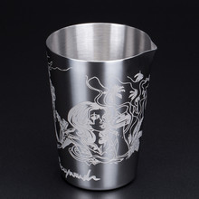 530ml New Style Stainless Steel Mint Julep Moscow Mule Mug Beer Cup Coffee Cup Water Glass Drinkware(China)