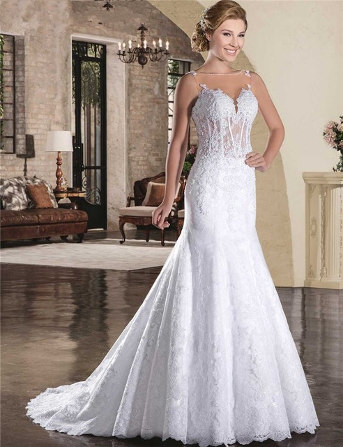 Vestidos de boda civil baratos