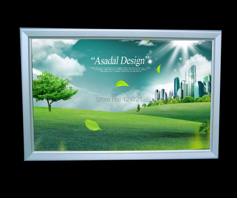 Wall mounted led lightbox a3 size 2014 new/Advertising led display photo frame led poster frame display lightbox