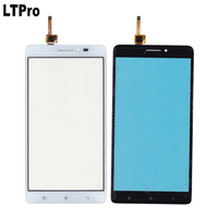 Black White TOP Quality Front Glass Touch Screen Digitizer For Lenovo A936 Note 8 Note8 Mobile