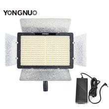 Продукт Новый YN1200 Yongnuo СВЕТОДИОДНЫЕ лампы Видео Ультра Тонкий Большой Панели CRI95 & AC DC Адаптер для Canon Nikon Pentax ЗЕРКАЛЬНЫЕ ФОТОКАМЕРЫ