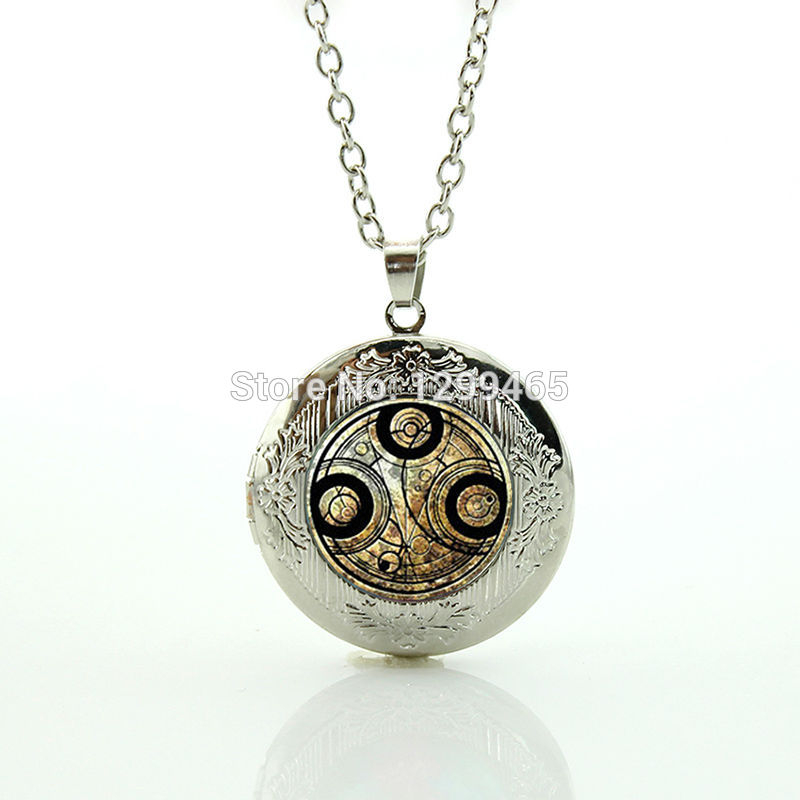 Doctor Who Time Lord Seal Necklace supernatural accessories personality leisure series essential your finish choice N 1044