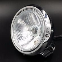 Хром фара для Honda REBEL MAGNA CA CMX 250 750 КОНЬ 400 600