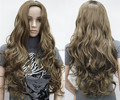 New Sexy Womens Girls Fashion Style Wavy Curly Long Hair Human Full Wigs 10pcs/lot mix order
