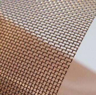 Malla de alambre de cobre (40 malla), filtro de malla de cobre 50 cm * 100 cm Fuente del punto