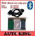 ¡ Buenas Noticias!!! 2015 R1 con activación gratis! negro tcs CDP PRO plus + Bluetooth + LED para el Coche y Camiones 3 in1 nuevo vci con la nave libre