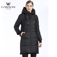 GASMAN Winter Coat And Parka Women 2018 Fashion Warm Female Thick Parka Down Hooded Overcoat Casual Brand Jackets And Coats Long free shipping 2017 new polyester winter jackets and coats thick warm fashion casual handsome young men parka fit snow cold