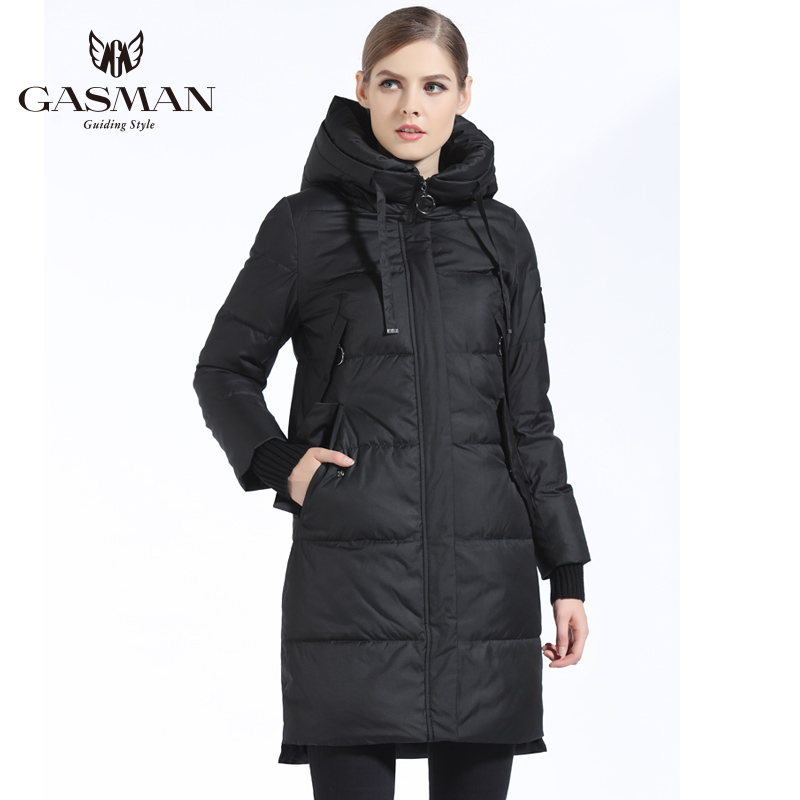 GASMAN Winter Coat And   Parka   Women 2018 Fashion Warm Female Thick   Parka   Down Hooded Overcoat Casual Brand Jackets And Coats Long