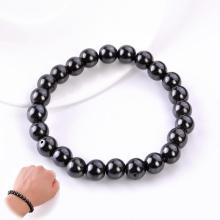 1pc Magnetic Healthcare Bracelet Slimming Black Stone Stimulating Acupoints Magnetic Therapy font b Weight b font