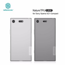 Nillkin TPU Case for Sony Xperia XZ1 Compact Nature Series Transparent Clear Soft Back Cover sFor Sony Xperia XZ1 Compact Case