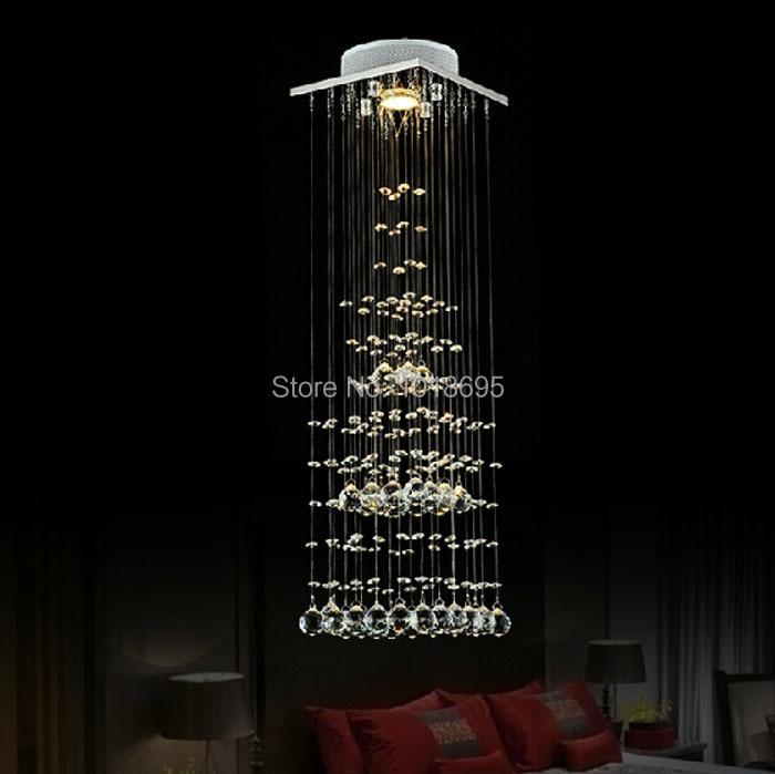 Креативный хрустальный светильник в виде пирамиды для спальни, ресторана, светодиодный потолочный светильник с бесплатной доставкой