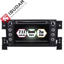 Isudar магнитола 2 din автомагнитолы автомагнитола 2din с навигацией телефоны сенсорные андроид android 7.1.1 для SUZUKI/Grand vitara 2005 FM Wifi OBD2 USB DVR DAB магнитолы для автомобиля автомобильные могнитола