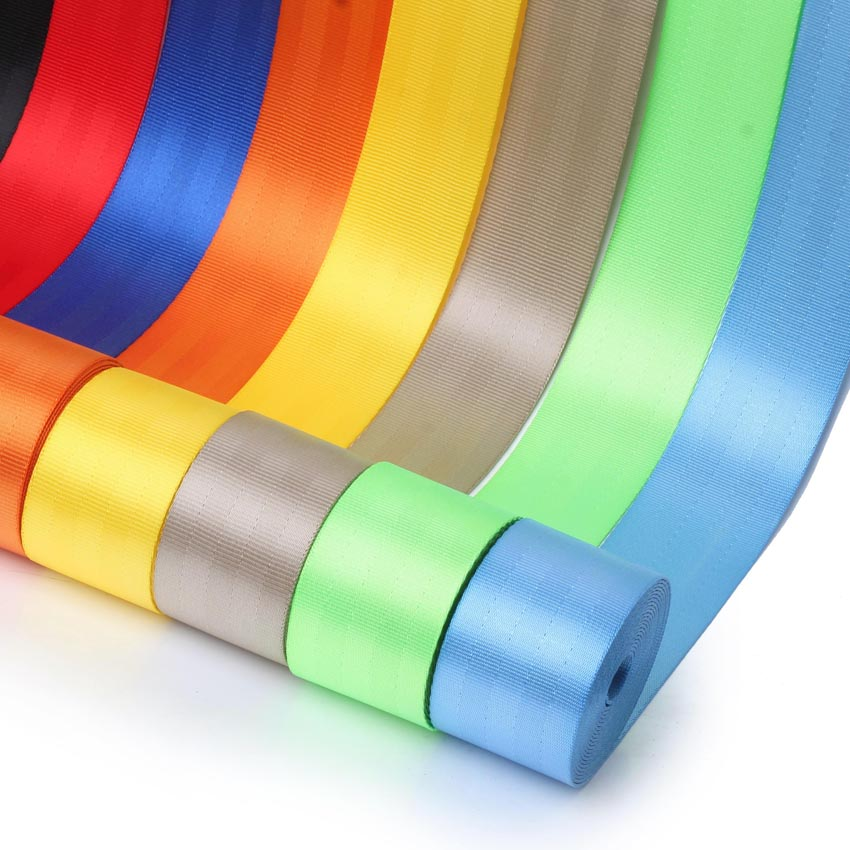 Racing Seat Belt 4 8cm 3 8m Car Webbing Fabric Harness