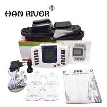 Jr 309 электрический стимулятор расслабляющий массаж мышц импульсный десятки тысяч тапочек+ 4 электрода колодки+ лечение иглоукалыванием