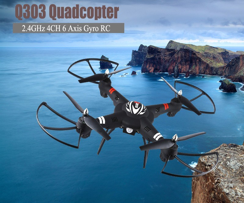 ФОТО WLtoys Q303 - A 5.8G FPV RC Drone With 720P Camera 4CH 6-Axis Gyro RTF Quadcopter Remote Control Dron Toy High Quality