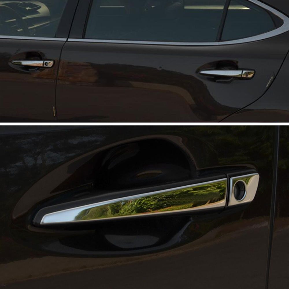 BBQ@FUKA Car Chrome Stainless Out Door Handle Cover Trim Styling Sticker Fit For Lexus CT200h RX270/ES250 GS350/450 IS250/350 -in Chromium Styling from ... & BBQ@FUKA Car Chrome Stainless Out Door Handle Cover Trim Styling ...