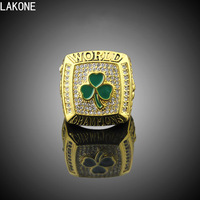 LAKONE Championship Rings 2008 Boston Celtics World Basketball Championship Ring Sports Fans Rings Men Gift Ring