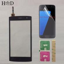 Tela sensível ao toque de celular de 5.5 polegadas, tela touchscreen para homtom ht7 ht7 pro, digitalizador touch screen, película protetora de vidro