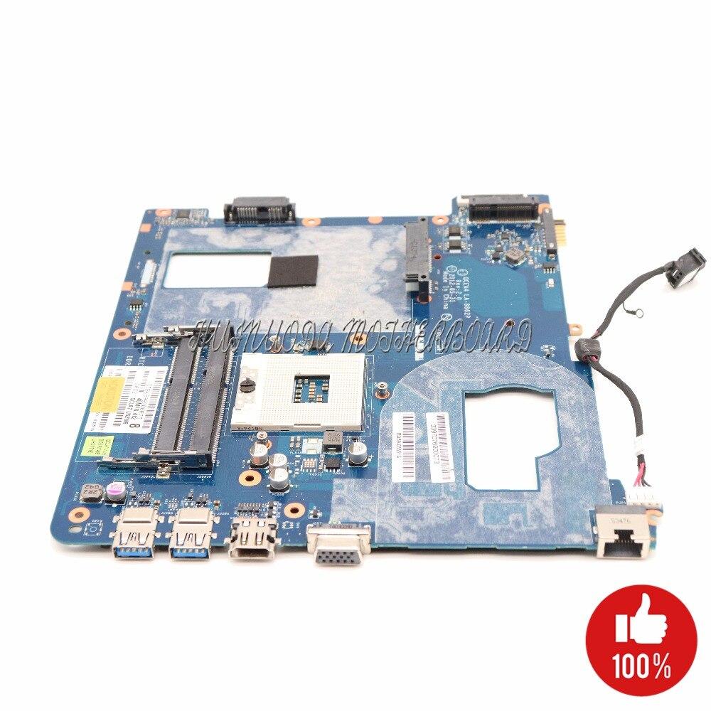 NOKOTION BA59-03539A BA59-03539B QCLA4 LA-8862P for samsung NP350V5C NP350 Laptop motherboard HM76 Intel HD GMA graphics DDR3 nokottion la 8861p ba59 03541a ba59 03397a laptop motherboard for samsung np350 np350v5c 350v5x qcla4 hm76 ddr3 hd7670m