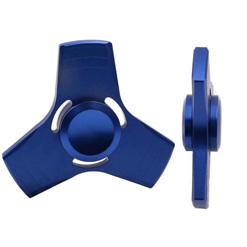 5 צבעים EDC לקשקש ספינר UFO יד אבץ תלת ספינר ספינר סגסוגת אלומיניום לקשקש צעצוע לחץ חרדה מבוגרים ילד מתכת ספינר