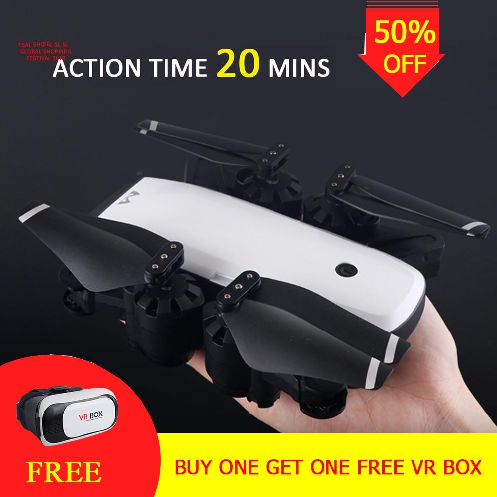 S20 Drone Con HD 1080 p Wifi Della Macchina Fotografica Quadrocopter In Bilico FPV Quadcopter 5MP Pieghevole RC Elicottero sacchetto di Immagazzinaggio VS cg033 drone