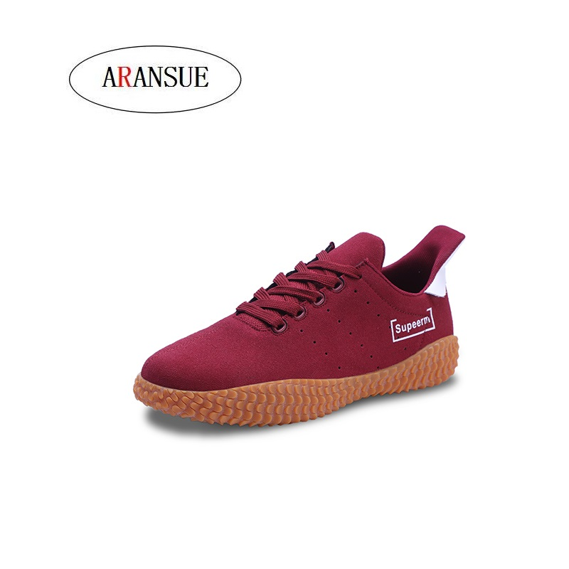 Man Vulcanized Shoes Red Shoes Anti Sneakers Leisure Sapato Masculino Personality Footwear Lightweight Loafers Men's Shoes Men's Vulcanize Shoes