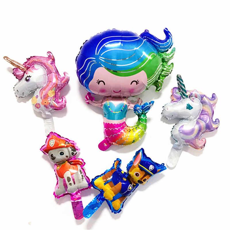 Balões de hélio new style uma pequena sereia Ariel princesa Sereia balão da folha balão grande para o presente de aniversário da menina