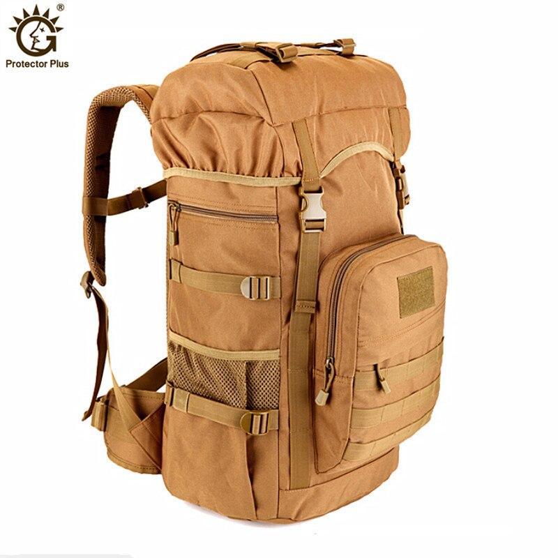 Sac à dos tactique militaire 50L sacs de Camping de grande capacité sac d'alpinisme sac à dos de randonnée pour hommes sac à dos de voyage