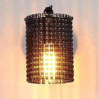 Modern Wall Lamps Sconces Iron Bicycle Chain for Restaurant Bedroom Decorative Wall Lights Lamparas Home Lighting Fixture